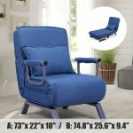 Artiss Lounge Sofa Bed Floor Recliner Chaise Folding Suede For Sale Online Ebay