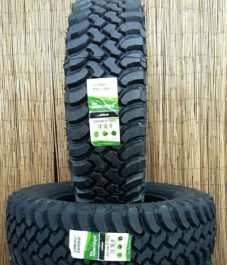 235 70 16 INSA DAKAR MUD TERRAIN  TYRES X2 DELIVERED PRICE