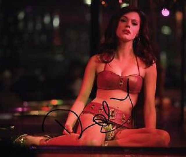 Image Is Loading Rose Mcgowan Signed X Grindhouse Photo Autograph Sexy