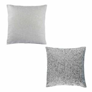 details about light and dark grey boucle textured cushion covers 45 x 45 cm and 60 x 60 cm
