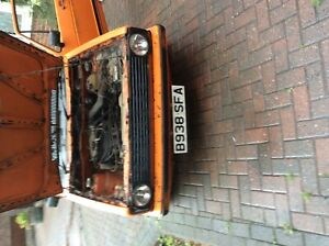 Mk 1 vow caddy pickup 1.8 barn find project