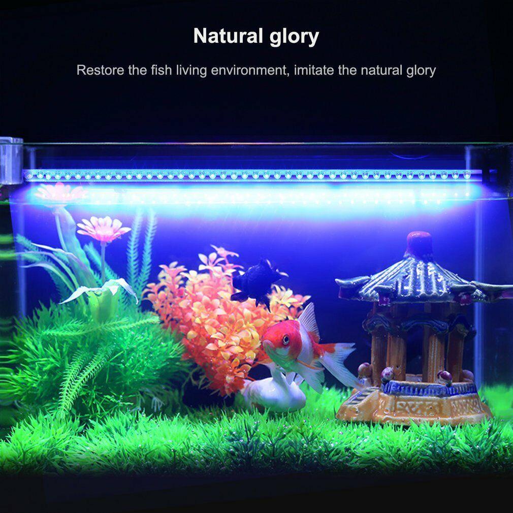 Aquarium Mondlicht Leuchte Led Lampe Wasserdicht Beleuchtung Uv Ebay