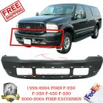 Front Bumper Steel For 1999 04 Ford Super Duty F 250 F 350 2000 2004 Excursion Ebay