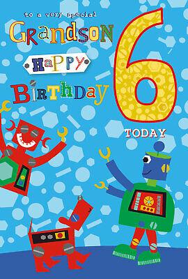 Birthday Wishes For Grandson 6th Birthday