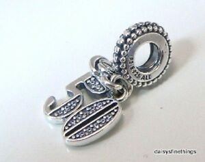Authentic Pandora Silver Charm 50 Years Of Love 797264cz Birthday Anniversary 5700302659672 Ebay