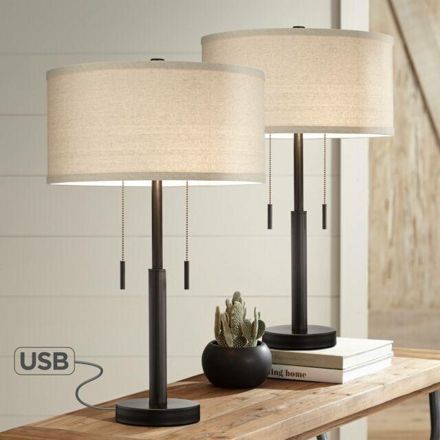 Table Lamps Dili Home Desk Decorative Lamp Vintage Set Of Two Bedroom Lights For For Sale Online Ebay