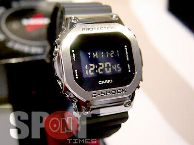 Casio G Shock Metal Parts Square Face