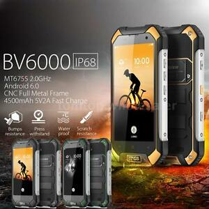 Blackview BV6000 4G LTE Tri-proof Smartphone Android 6.0 3GB RAM 32GB IP68 US