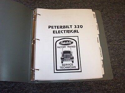 19971998 peterbilt model 320 factory electrical wiring diagram manual book   ebay