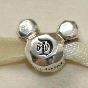 Pandora Charm Disney Mickey Mouse Disneyland 60th Anniversary 791558 W Suede Pou 5700302339147 Ebay