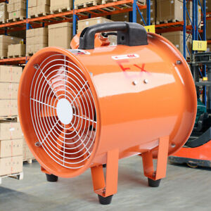 details about ex axial fan 12 explosion proof extractor for spray booth paint fumes exhaust