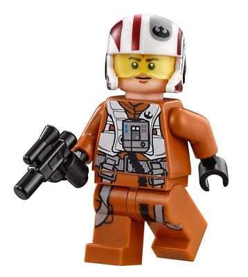 Lego Star Wars X Wing Pilot Split From 75102 Poes X Wing Fighter Ebay