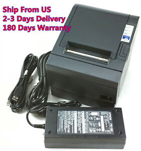 Details About Epson Tm T88iii M129c Pos Thermal Receipt Printer Usb Port With Power Supply