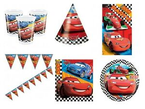 Disney Cars Birthday Party Supplies Tableware Decorations Select Item Ebay