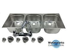 concession sink large propane portable