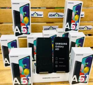 SAMSUNG GALAXY A51 ( A515F ) 128 GB 4 GB RAM BLACK 6.5 INCH 48 MP NEW DUAL SIM