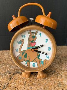 Vintage Scooby Doo Fuzzy Bell Alarm