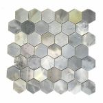 Athens White 2 Hexagon Marble Mosaic Wall And Floor Tile Backsplash Kitchen For Sale Online Ebay