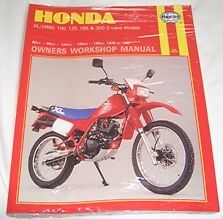 Haynes Manual HONDA XL XR XL80 XR80 XL100 XR100 XL125