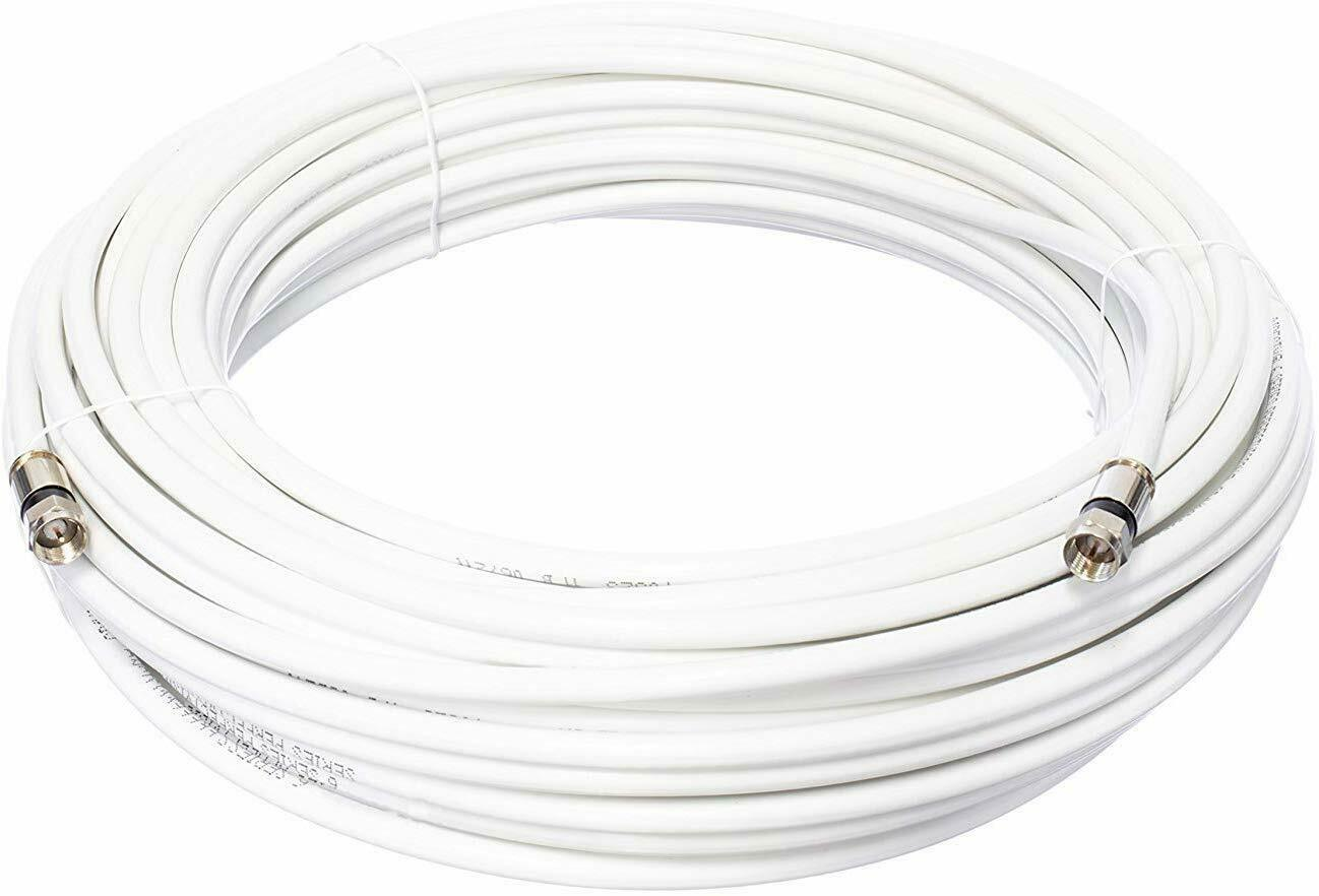 100ft Outdoor Rg6 Coaxial Cable Digital Coax