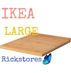 https www ebay fr itm ikea lamplig wooden chopping board bamboo new 45 x 38 cm 202609502433
