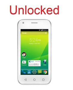 ZTE 4GX Smart A112 4G Quad Core White Unlocked Android 6.0 like Shout