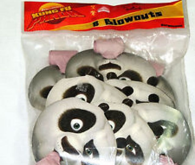 Image Is Loading Kung Fu Panda  Party Blowouts Multi Color