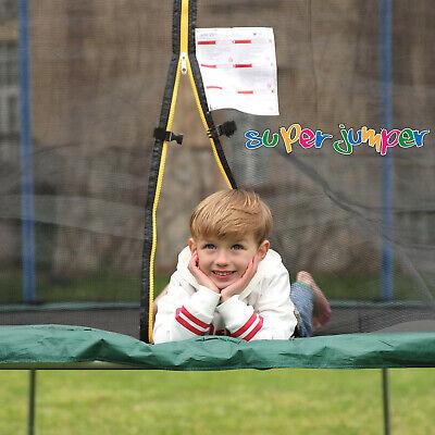 super jumper trampolin outdoor gartentrampolin 305cm 428cm kindertrampolin ebay
