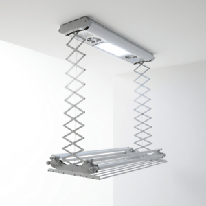 Foxydry Air 120 Clothes Airer Suspended Ceiling Or Wall Remote Ebay