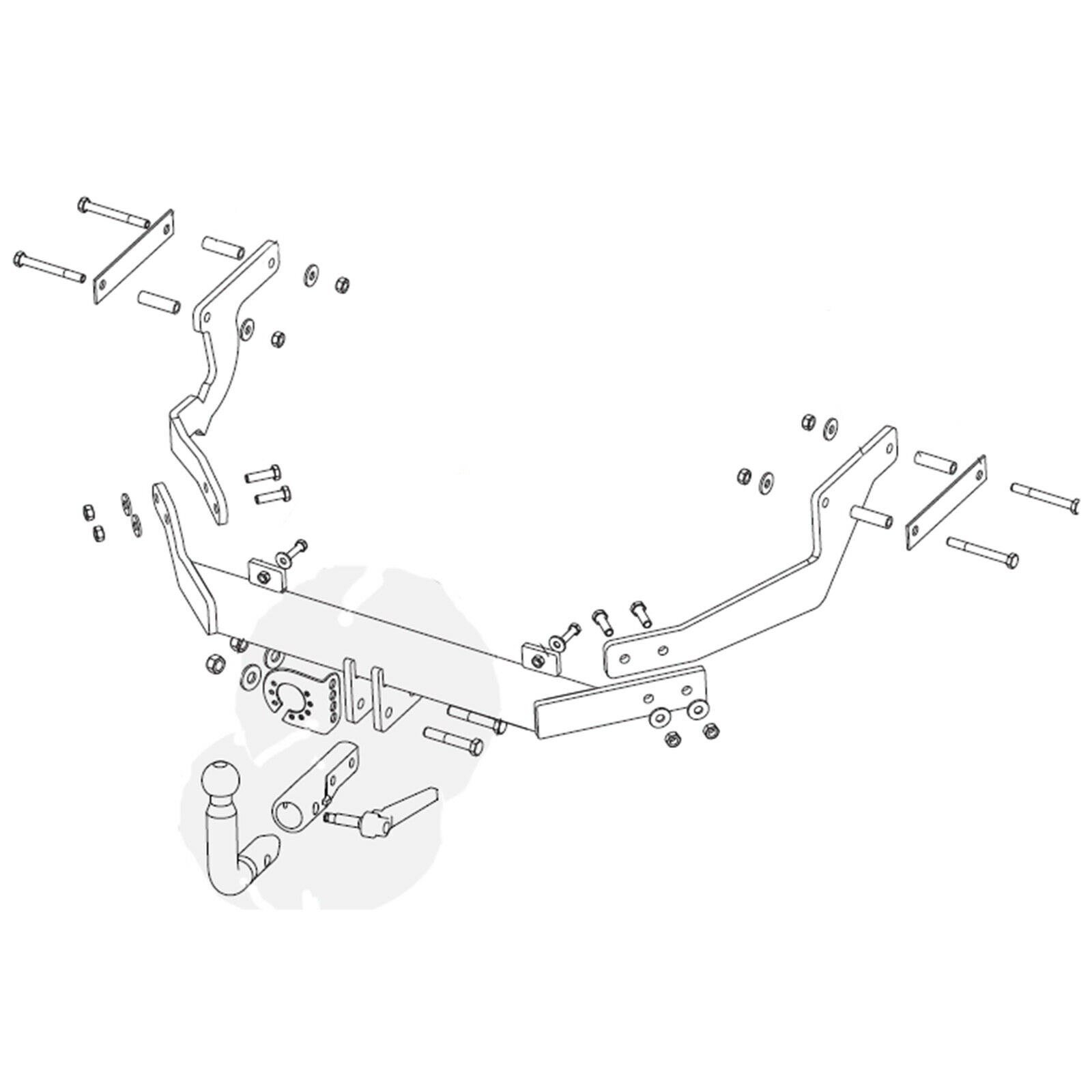 Diagram Wiring Diagram For Citroen Xsara Picasso Towbar