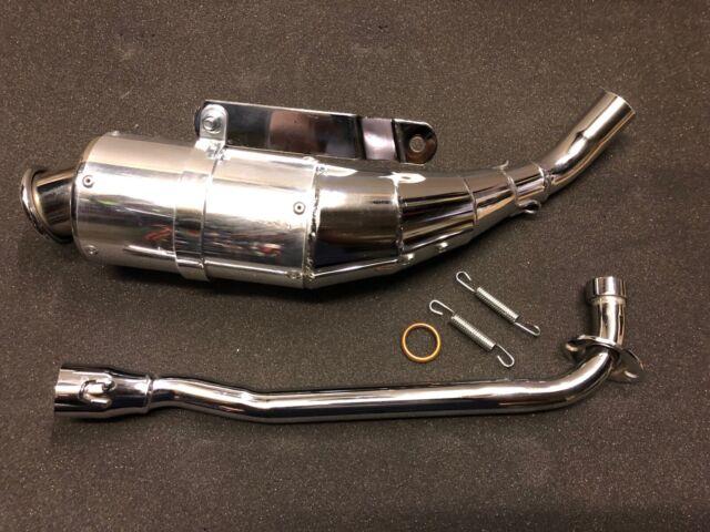 new honda z50r monkey bike exhaust with gasket