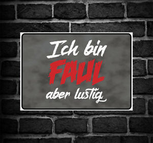 Achtung Ich Denke German Warning Caution Danger Sign Lustig