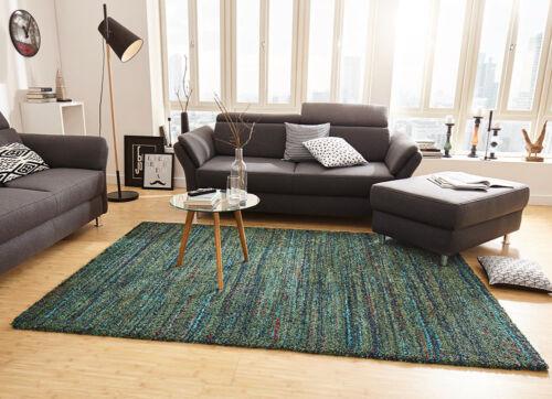 design tapis shaggy langflor d un epais chic chine vert