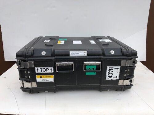 surplus pelican hardigg 6u blk ecs rackmount shockmount case military container boxes chests