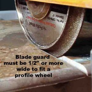 details about 10 vacuum brazed diamond profile wheel 4 tile saw b 3 8 demi bullnose