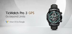 "Mobvoi Ticwatch Pro 3 GPS Black Shadow AMOLED 3.56 cm (1.4"") GPS NFC IP68 GLOBAL"