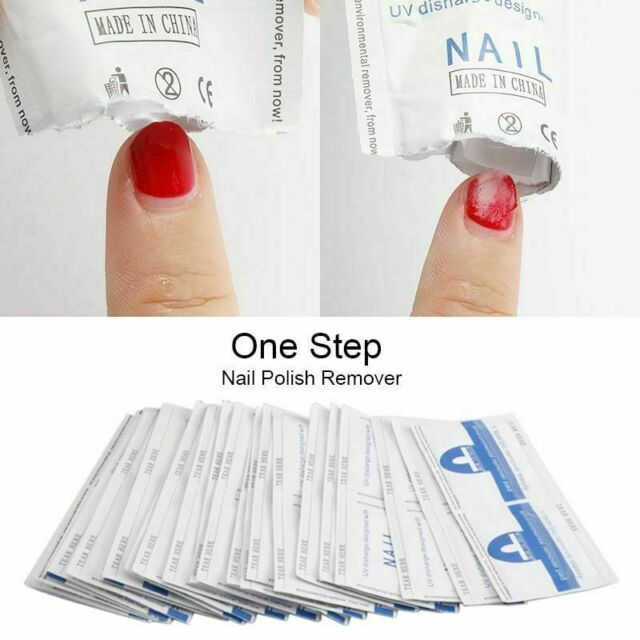Mylee Gel Polish Pre Soaked Remover Wraps Pack Of 100 For Sale Online Ebay