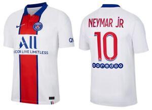 details zu trikot nike paris saint germain 2020 2021 away neymar jr 10 i psg auswarts