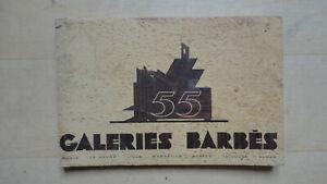 details zu catalogue meuble mobilier galeries barbes 1955