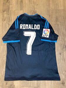 Adidas Real Madrid Third 2015/16 Cristiano Ronaldo Size ...