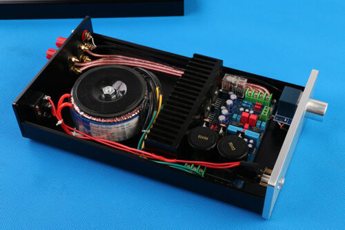 Finished Lm Tf Stereo Audio Amplifier With Case