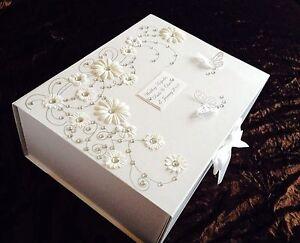 Wedding Keepsake Box Ruby Wedding Keepsake Or Memory Box By Little