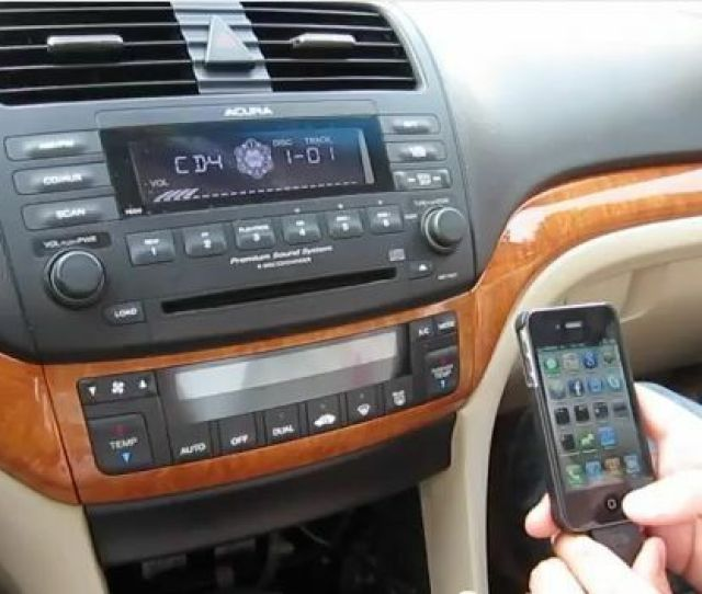 Gta Car Kit For Acura Tsx 2004 2008 Ipod Iphone Aux Adapter