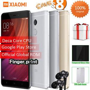 "Original 5.5"" Xiaomi Redmi note 4 Pro Prime 3GB 64GB Deca Core MIUI 8 Smartphone"