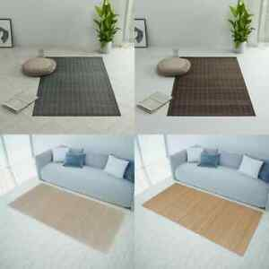 details sur vidaxl tapis bambou carpette moquette decor salon multi taille multicolore