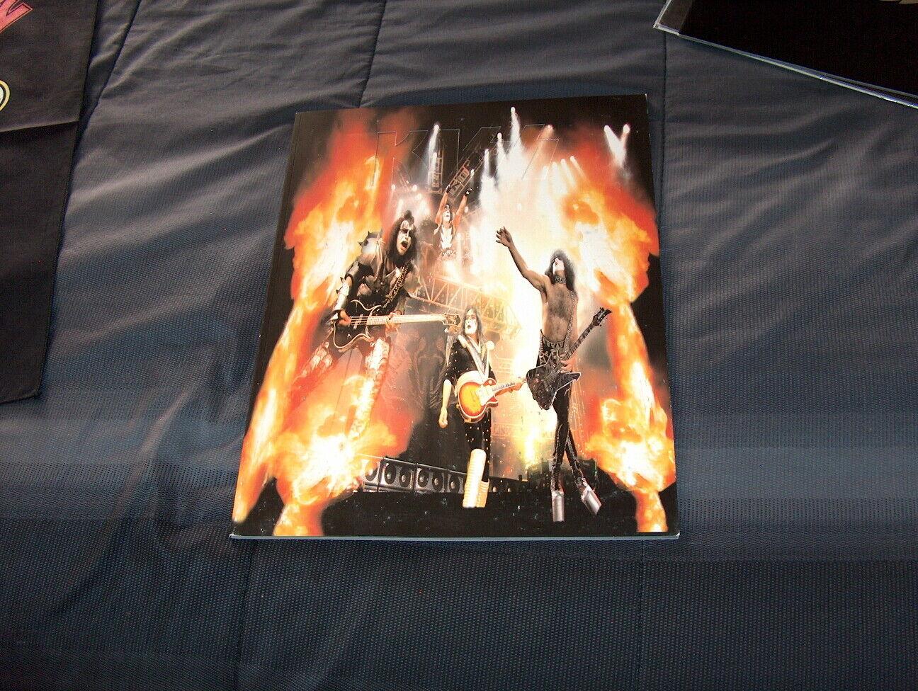 KISS The Farewell Tour 1973 – 2000 Tour Book Mint !!