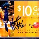 2007 Planet Tan DALLAS COWBOYS CHEERLEADERS LYNLEE ALLEN AUTOGRAPH Gift Card COA