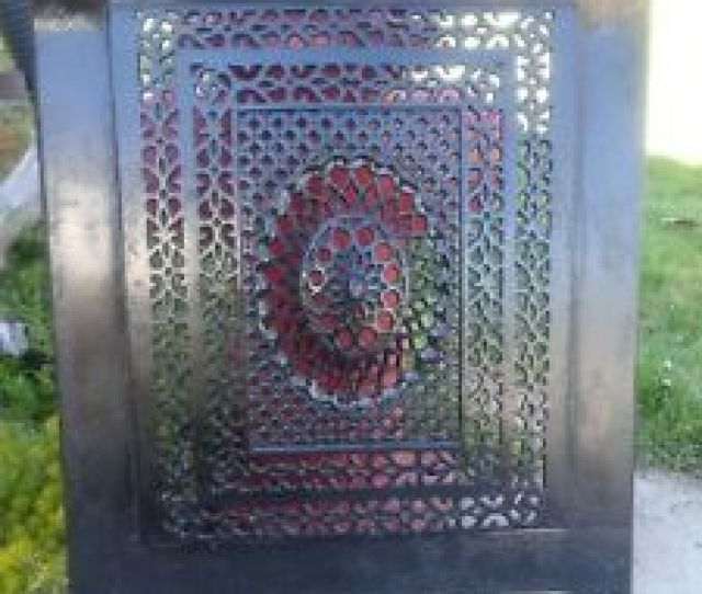 Image Is Loading Ornate Cast Iron Fireplace Summer Cover