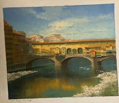 Orig Gemalde Acrylbild 50x50 Leinwand Canvas Limited Neu