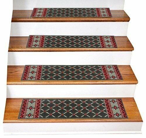 Acrylic Non Slip Stair Runner Rug Stair Treads Carpet Door Mat | Rug Stair Treads Non Slip | Bullnose Carpet | Gloria Rug | Slip Resistant | Tread Covers | Flooring